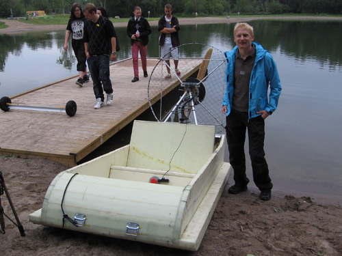 ELECTRIC MOTOR BOAT PROJECT « All Boats